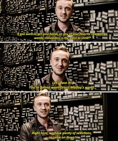 Tom Felton - Ollivanders Wand Shop at the Wizarding World of Harry Potter, Japan
