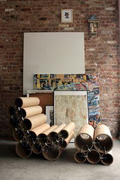 Sofa made of circular tubes - Google Search