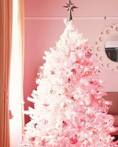 Our most-adored Pretty in Pink Christmas Tree. As seen on @makingitlovely
