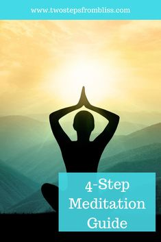 How To Meditate (The Ultimate Guide) | Two Steps From Bliss | Did you know that most people don't make the most of their meditation practice? I would know because I did it this way for many years! In this post, we'll learn how to meditate in 4 very simple steps. The system I have laid out here will help you slow down the mind and relax before you even start your practice. #twostepsfrombliss #guidedmeditation #howtomeditateforbeginners Free Meditation, Meditation Benefits, Meditation Practices, Spiritual Practices, Meditation Music, Mindfulness Meditation, Guided Meditation, Mindfulness Exercises, Learn To Meditate