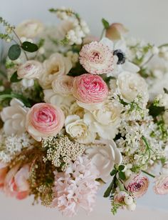absolutely adore the blush tones in this arrangement. perfect for a wedding, bridal shower or luncheon the colours are soft and romantic.