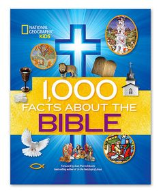 Look at this #zulilyfind! 1,000 Facts About the Bible Hardcover #zulilyfinds