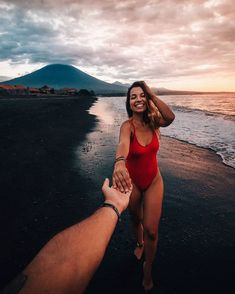 Amed Bali with Patricia & Miguel, travellife, places and explore Happy Love, Summer Bucket Lists, Beach Girls, Travel Couple, One Piece, Couples, Swimwear, Photography, Clothes