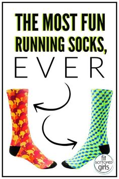 These socks make for a fun run!   Fit Bottomed Girls