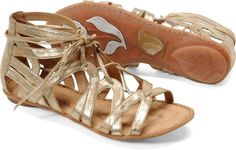 Cute and Comfy Sandals: Born 'Grammercy' sandals