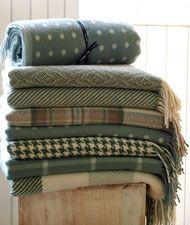 Woollen Throws & Woollen Rugs - Foxford Woollen Mills - Co. Mayo