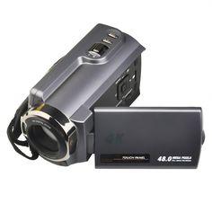 "Camera Camcorders,THYMY Ultra HD (48 Mega Pixels) 4K 2160P 16X Digital Zoom Night Vision Video Camera with Wifi and Digital Video Camcorder and 3.0"" LCD 270 (Sports Camera 1)"