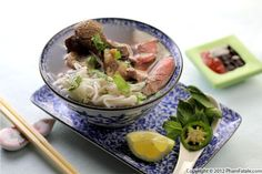 Pho Bo Recipe (Vietnamese Beef Noodle Soup) Recipe - one of the better online recipes I've found.