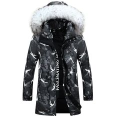 2016 New Winter Down Jacket Men's Fashion Camouflage