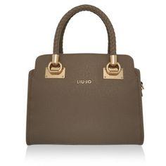 LIU JO Tasche – Anna Bauletto Boston Bag M Tortora Beige – in beige – Henkeltasche für Damen