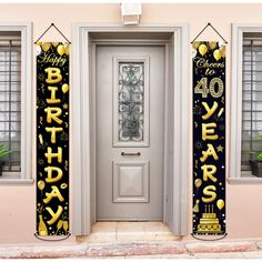 80th Birthday Party Banner Decorations-Banner For 50th Birthday Party