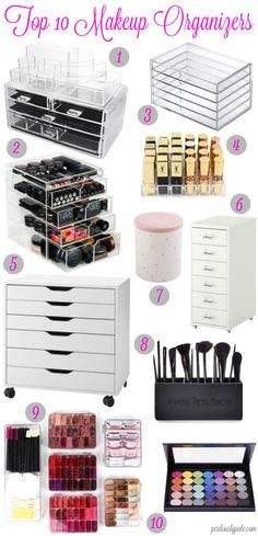 Top 10 Makeup Organizers