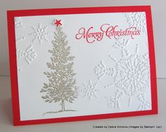 Lovely as a Tree Christmas : Deb's Stampin' Grounds.... (a place that inspires creativity in others)