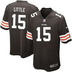 Youth Nike Cleveland Browns #15 Greg Little Limited Brown Team Color NFL Jersey Sale