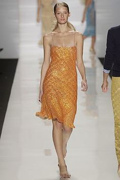 Michael Kors Collection Spring 2004 Ready-to-Wear Fashion Show - Linda Vojtova, Michael Kors