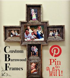 $100 Store Credit Giveaway for www.custombarnwoodframing.com. Pin one of our pins for a chance to win! Winner announced by email. Check out our awesome giveaways on our Facebook page: www.facebook.com/cbframes *This contest is in no way affiliated with Pinterest or Facebook.*