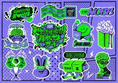 关爱设计师不完全指南|插画|其他插画|左Zoe - 原创作品 - 站酷 (ZCOOL) Creative Poster Design, Graphic Design Posters, Character Illustration, Graphic Illustration, 2 Logo, Keys Art, Badge Design, Artist Alley, Retro Design