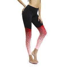 515ae55cc0dd5 Le World Pantalons de Sport pour Femmes Pantalons de Yoga Taille Haute  Pantalons de Sportif Taille élastique Leggings de Sport Athleisure Pantalons  de ...