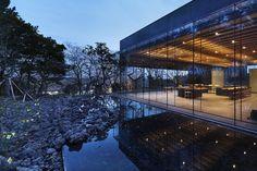 Pabellones Casa de Té Osulloc / Mass Studies (Jeju-si, Jeju-do, Corea del Sur) #architecture