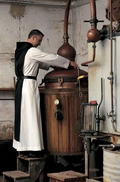 Trappist brewing, European monasteries brew beer in order to pay for upkeep of the monastery. Plus the beer they make is awesome. Pico Brasserie, Distillery, Brewery, Whisky, Distilling Alcohol, Moonshine Still, Home Brewing Beer, In Vino Veritas, How To Make Beer