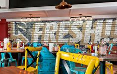 Bagger Dave's Burger Tavern Murals on Behance