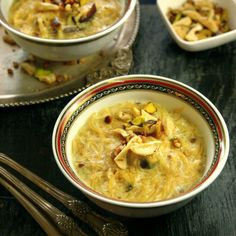Rich and creamy Sheer Khurma or Vermicelli pudding is a much loved Indian dessert. Special treat for Ramdan.