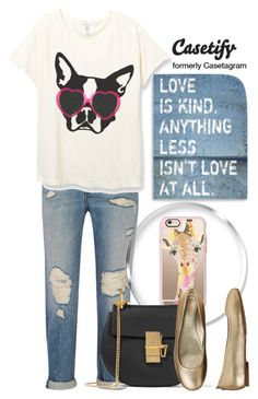 """""""GIVEAWAY. Casetify.com"""" by av-anul ❤ liked on Polyvore featuring Alexander Wang, Casetify, Chloé and Aetrex"""