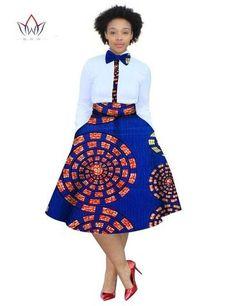 2017 christmas dress Plus Size 2 Pieces African Print Dashiki Shirt Skirt Set Bazin Rche Femme Africa Clothing natural Dashiki Shirt, Size 2, Plus Size, Shirt Skirt, Skirt Set, High Waisted Skirt, African, Natural, Cute