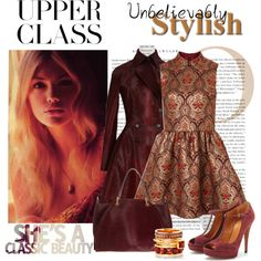 """Upper Class"" by elena-indolfi on Polyvore"