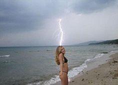 L'éclair improbable | #Photobomb | #vacances |