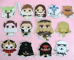 Gussy up your fridge with these Star Wars owl magnets!