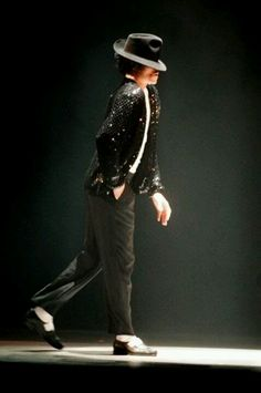 Michael Jackson Moonwalk. Floorglide from the Popping style of Hip-Hop Dance.