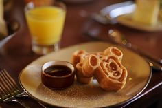 Mini Mickey Pancakes at Bistro de Paris in the France Pavilion at Epcot @ Disneyworld