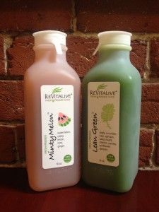 New Revitalive Juice Label is Eco-Friendly! Check it out!