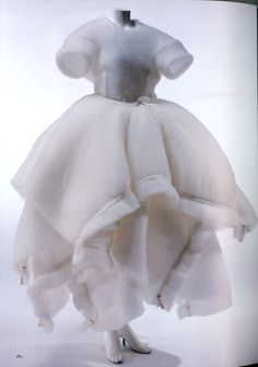 Comme des Garcons 1990 'wedding dress'