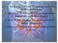 March is National Kidney Month  Stats and Facts on kidney disease
