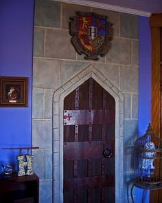 Harry Potter room - this is one amazing mom! The room my kids will study in while homeschooled.