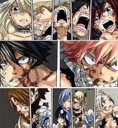 Fairy Tail- NOOOO I knows what's happening I this picture and I don't like it!! He can never die