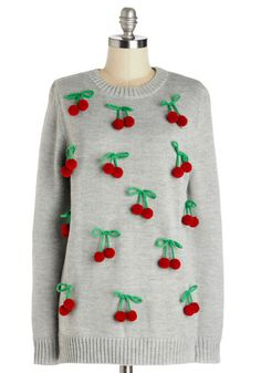 Fruit of the Matter Sweater, #ModCloth