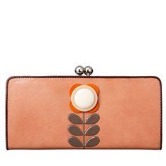 Orla Kiely purse £125 -- I do so love this.