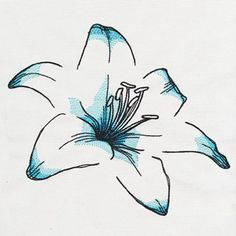 Delicate Petals | Urban Threads: Unique and Awesome Embroidery Designs