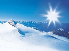 Ski in the Alps. But don't forget sunglasses!