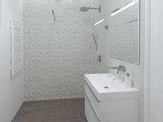 3D látványterv Atlas Concorde Boost és 3D Wall burkolattal #3dlátványterv #3dlátványtervezés #baustyl #lakberendezes #lakberendezesiotletek #stylehome #otthon #homedecor #inspiration #design #homeinspiration #interiordesign #interior #elevation #3dplan #bathroom #AtlasConcorde #AtlasConcordeBoost #AtlasConcorde3DWall 3d Visualization, Concorde, Alcove, Bathroom Ideas, Bathtub, Home Decor, Standing Bath, Bathtubs, Decoration Home