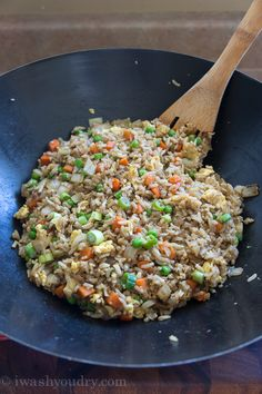 Quick and Easy Brown Fried Rice (just like Panda Express)