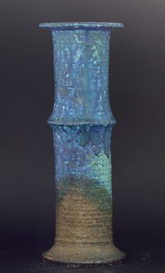 Francesca Mascitti-Lindh; Glazed Stoneware Vase for Arabia, 1970s.
