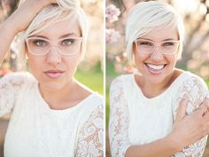 Rowley Eyewear + Tasteful Tatters Bridal Eyewear Giveaway - The Wedding Chicks This is so cool...I know her!