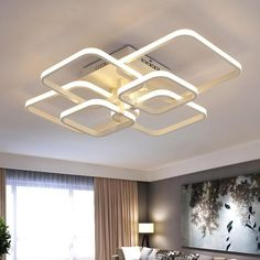Dimming modern led chandelier lights remote control ceiling modern chandelier led crystal ring chandelier ring crystal light fixture light suspension aloadofball Image collections