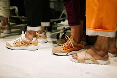 The return of the Nike Chapuka was previewed at the Rochambeau Spring 2017 runway show at New York Fashion Week.