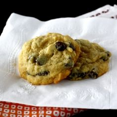 Chocolate Chip Pudding Cookies - so soft and chewy!