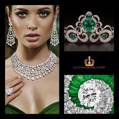 Green jewerly & Fashion lady